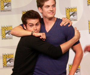 teen wolf, dylan o'brien, and daniel sharman image