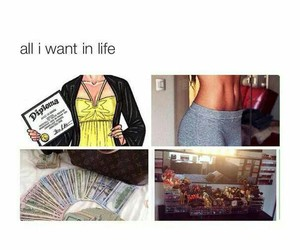 money, life, and goals image