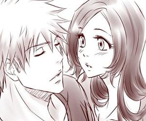 anime, bleach, and anime couple image