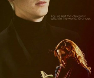 harry potter, hermione granger, and dramione image