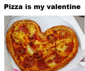 pizza and valentine image