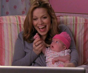 baby, haley, and happy image