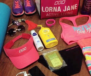gym, gym bag, and girls essentials image