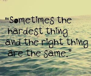 quotes, hard, and life image