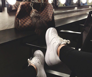 nike, shoes, and Louis Vuitton image