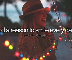 smile, happy, and bucket list image