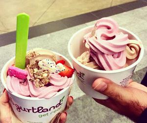 sweet, couple, and food image