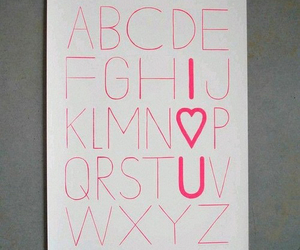love, diy, and ABC image