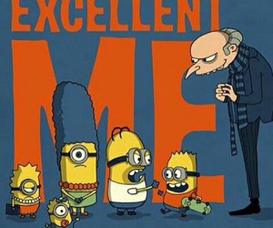 minions and simpson image
