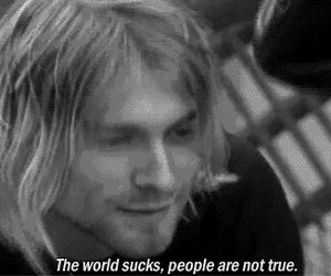 kurt cobain, nirvana, and quotes image
