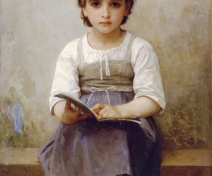 art, book, and child image