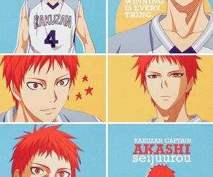 Akashi, anime, and kuroko no basket image