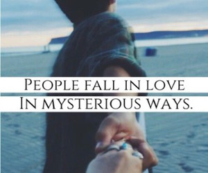 love, ed sheeran, and fall in love image