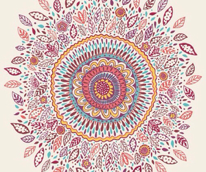 art, mandala, and wallpaper image