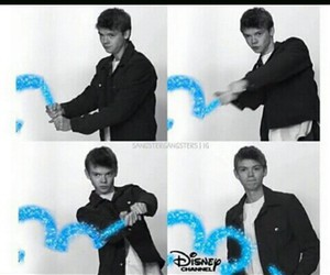 funny, newt, and disney chanel image