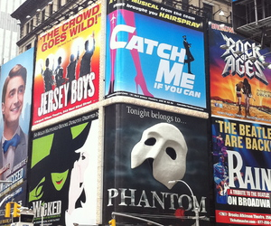broadway, catch me if you can, and fandom image