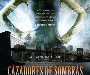 book, cassandra clare, and cazadores de sombras image