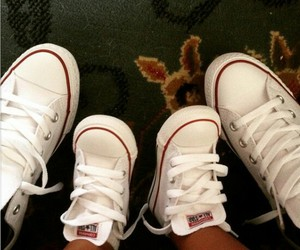 all star, baby, and converse image