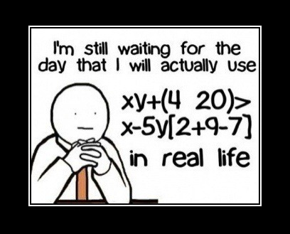 math, funny, and life image