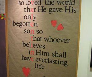 love, god, and valentine image