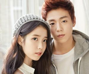 iu, lee hyun woo, and kpop image