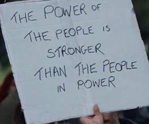 people, power, and quote image