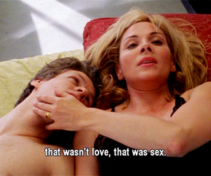comical, Kim Cattrall, and movie image