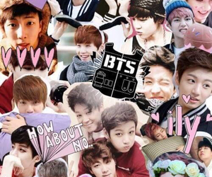 bts, kpop, and Collage image