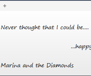 happy, marina and the diamonds, and froot image