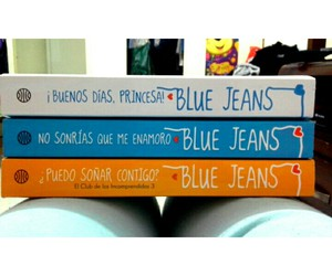 blue jeans, books, and trilogy image