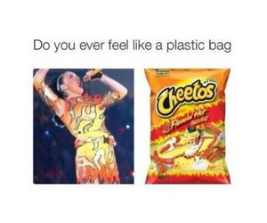 funny, katy perry, and Cheetos image