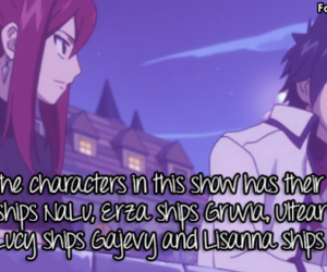 couples, shipping, and fairy tail image
