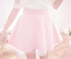 pink, girl, and cute image