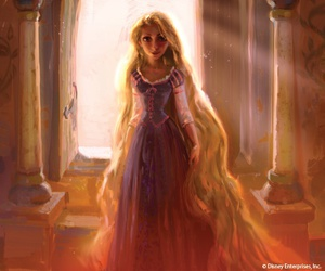 disney, disney princess, and rapunzel image