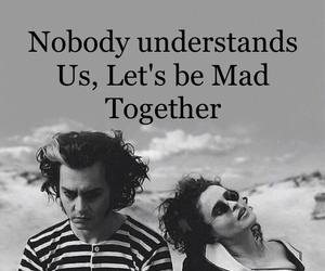 couple, johnny depp, and mad image
