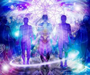 cosmic, energy, and espiritual image