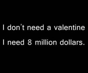 valentine, quote, and money image