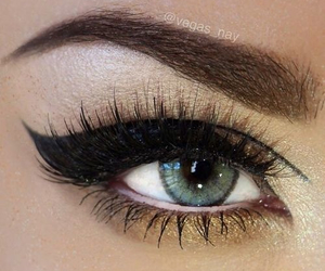 eye shadow, mascara, and n image