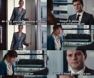 movie, christian grey, and fifty shades of grey image