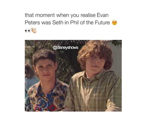 childhood, phil of the future, and evan peters image