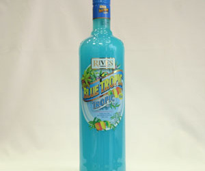 drink and blue tropic image