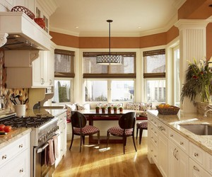 kitchen island design, kitchen island designs, and l shaped kitchen designs image