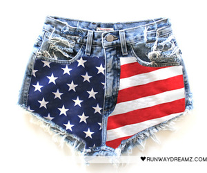 america, jeans, and fashion image