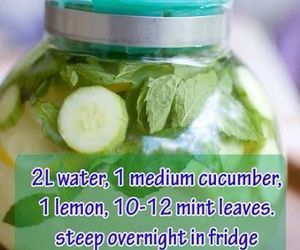 detox, health, and water image