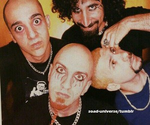 system of a down, serj tankian, and soad image