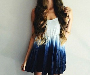 dress, fashion, and girl image