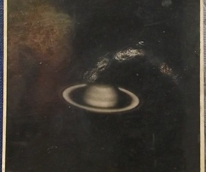 old, saturn, and space image