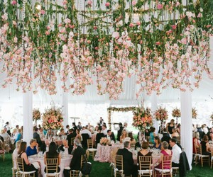 wedding flowers pink image