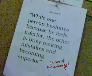 mistakes, quote, and quotes image