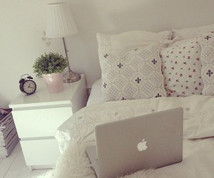 room, white, and apple image